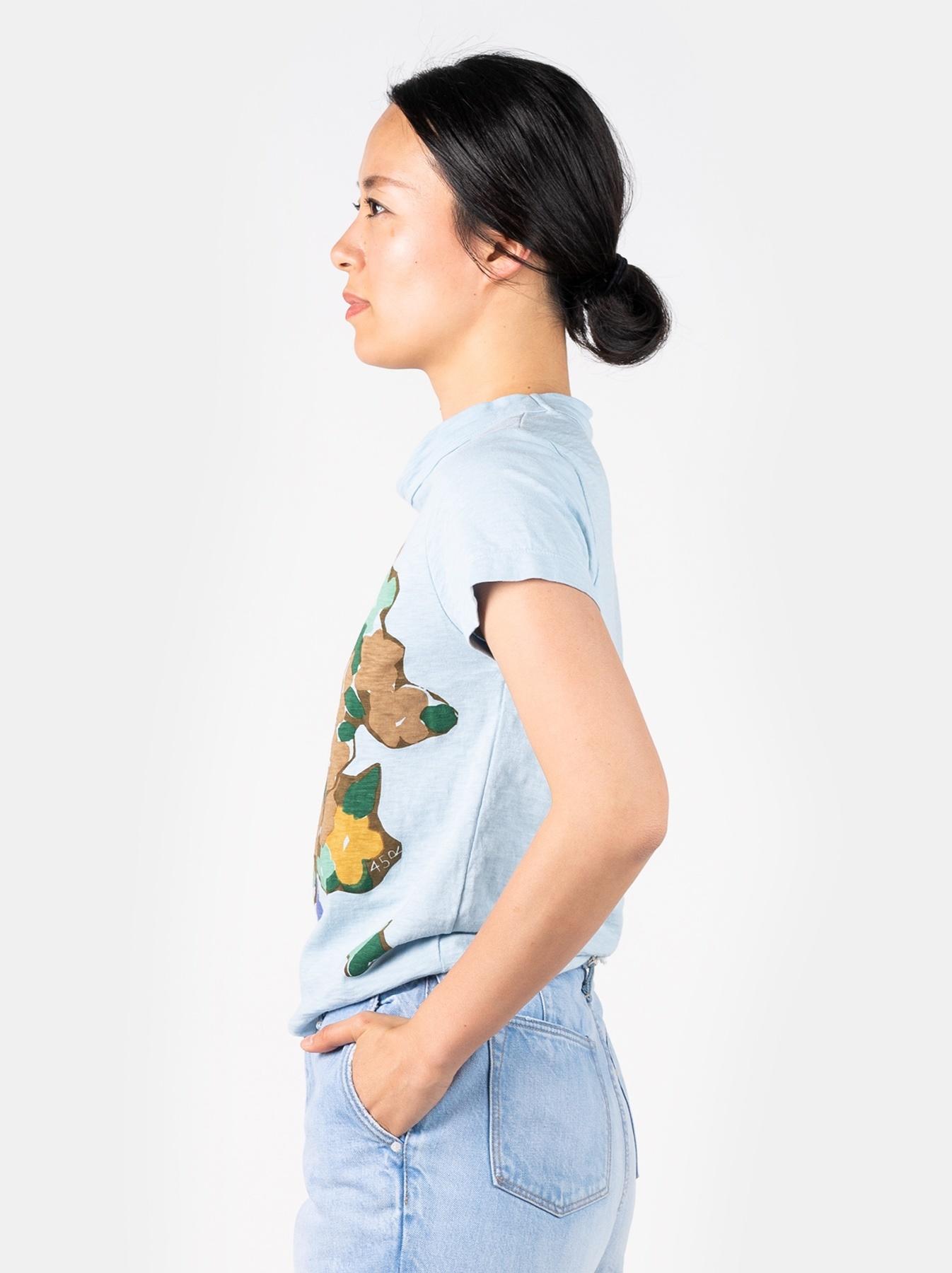 WH 45 Star T-shirt (Flower)-4
