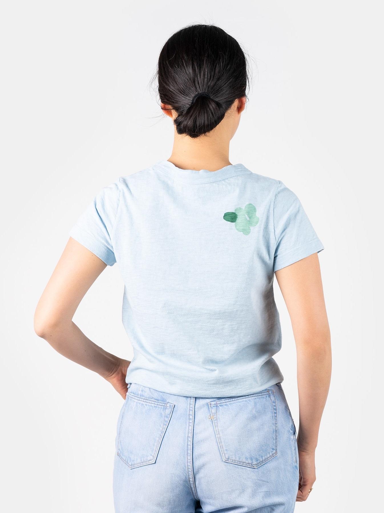 WH 45 Star T-shirt (Flower)-5