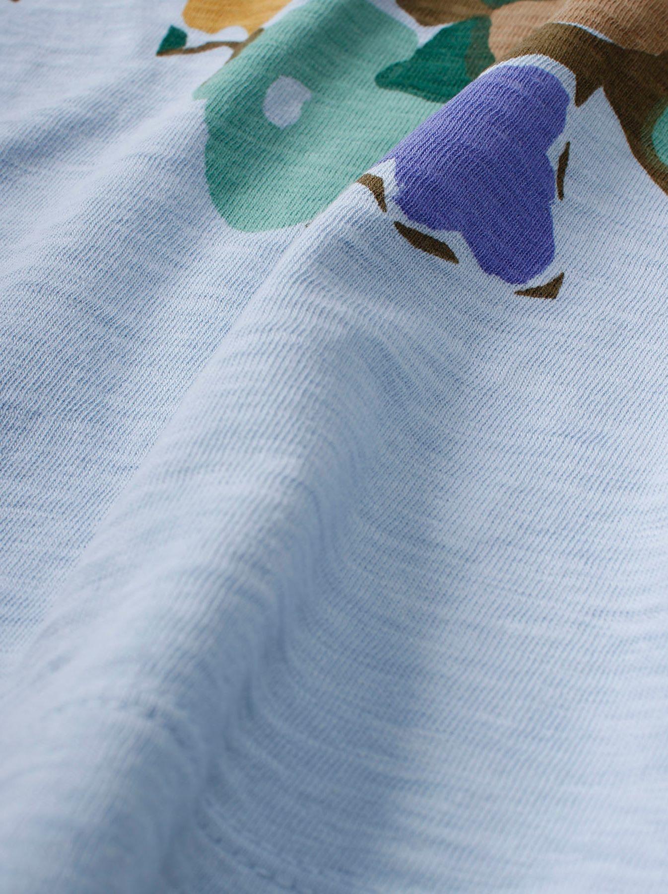 WH 45 Star T-shirt (Flower)-9