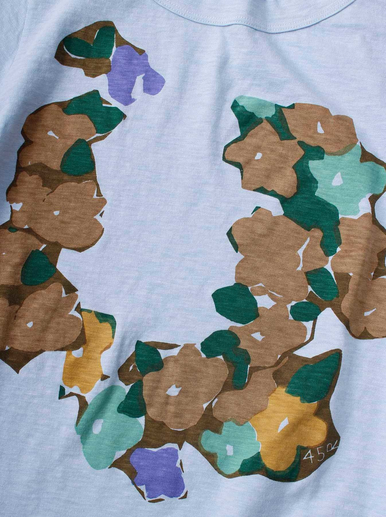 WH 45 Star T-shirt (Flower)-8