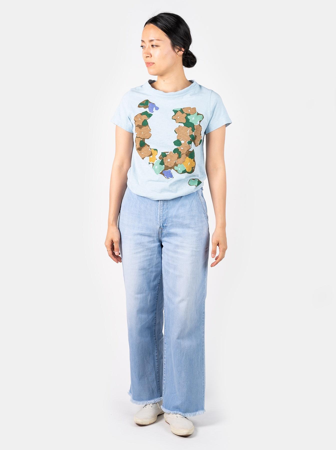 WH 45 Star T-shirt (Flower)-2