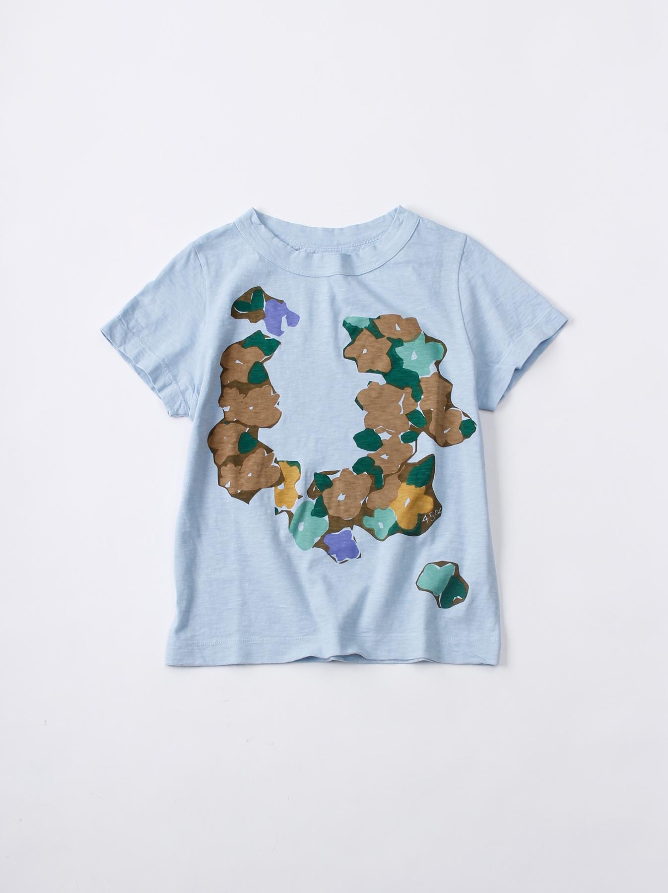 WH 45 Star T-shirt (Flower)-6