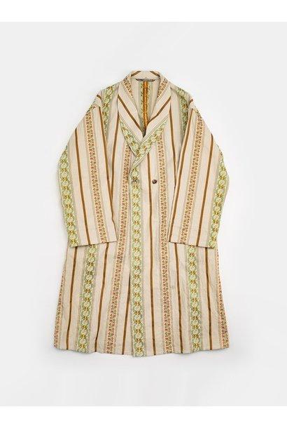 WH Hakeme Flower Jacquard Coat