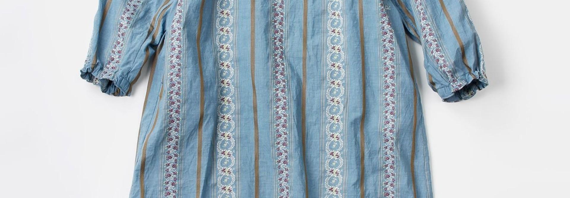 WH Hakeme Flower Jacquard Dress