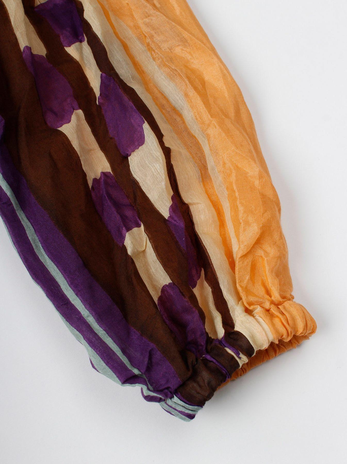 WH Feather Khadi Ikat Print Dress-8