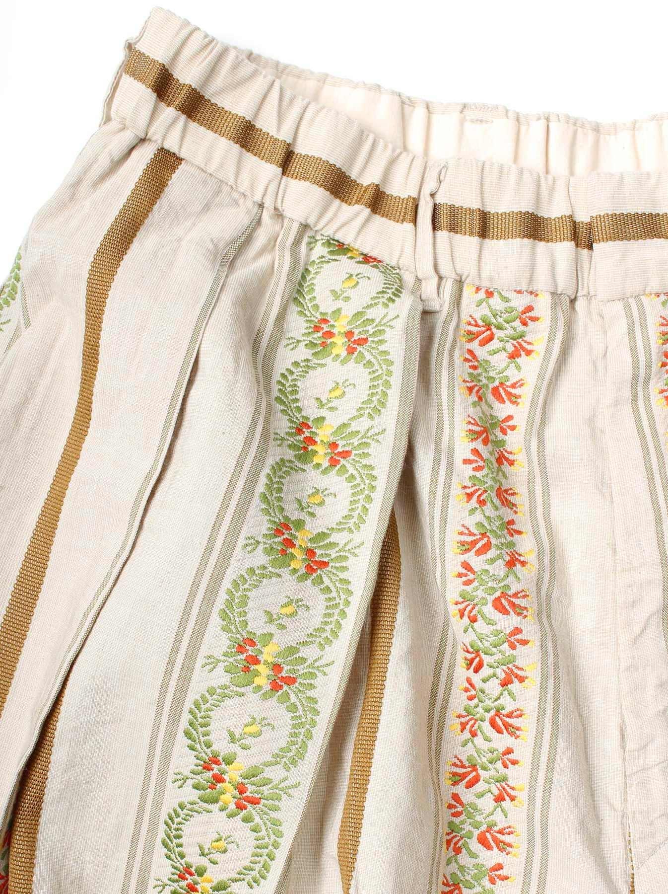 WH Hakeme Flower Jacquard Pants-9