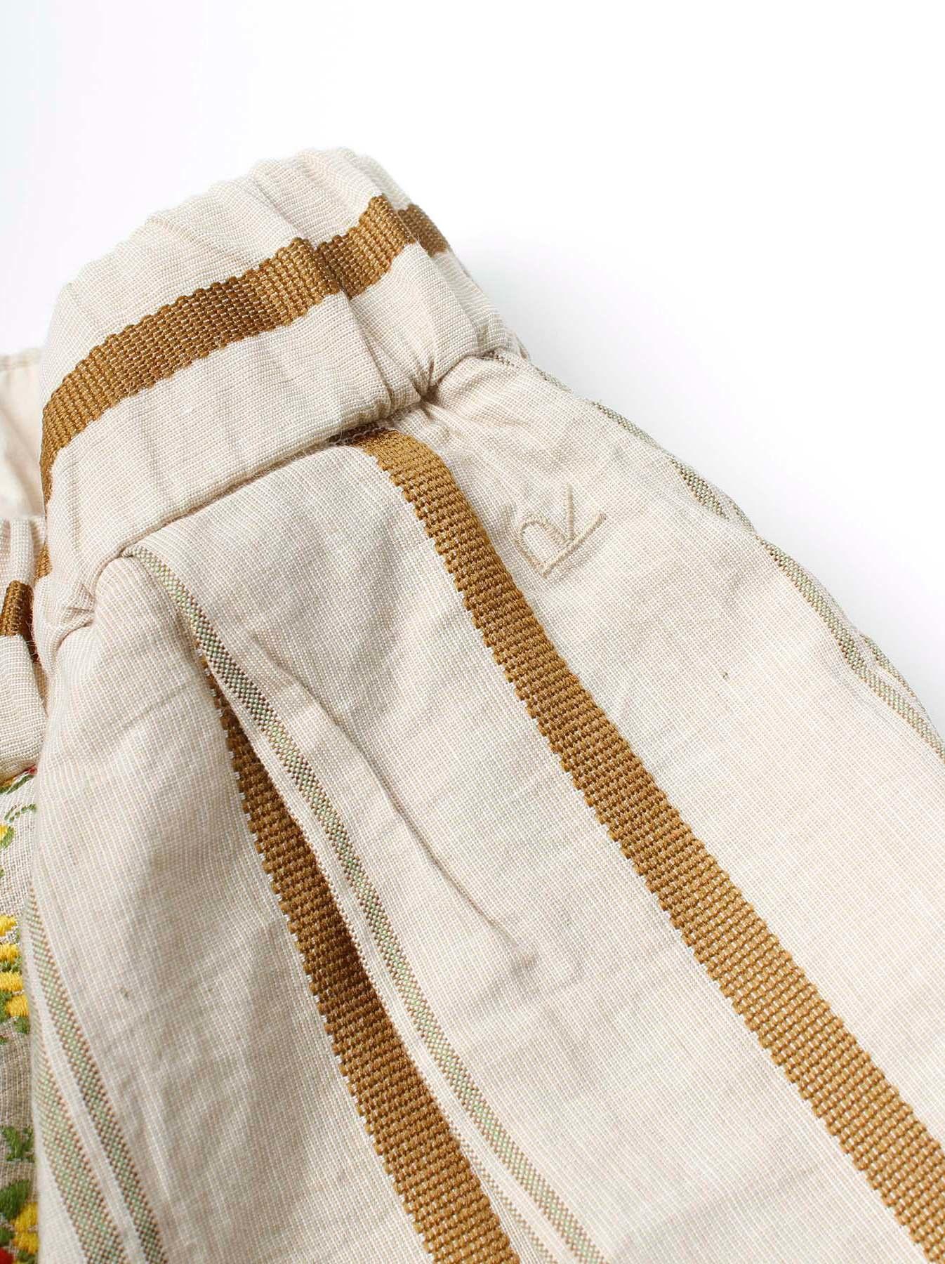 WH Hakeme Flower Jacquard Pants-10