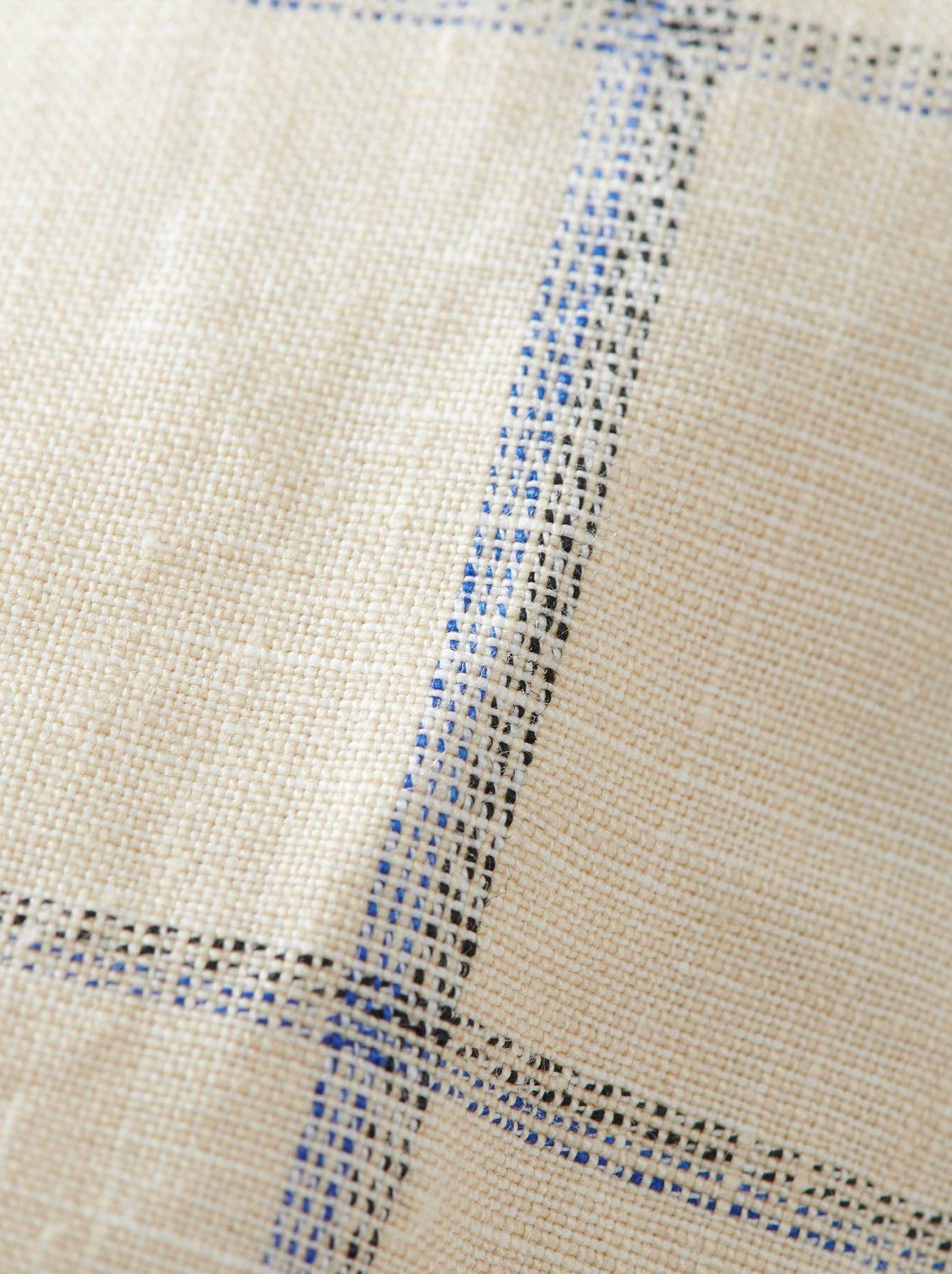 WH Linen 4545 Check Pants-8