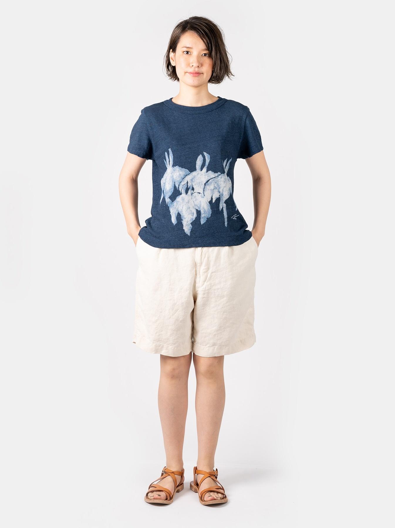 WH Indigo Saijiki Tango-no-sekku T-shirt-2