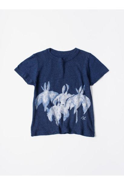 WH Indigo Saijiki Tango-no-sekku T-shirt