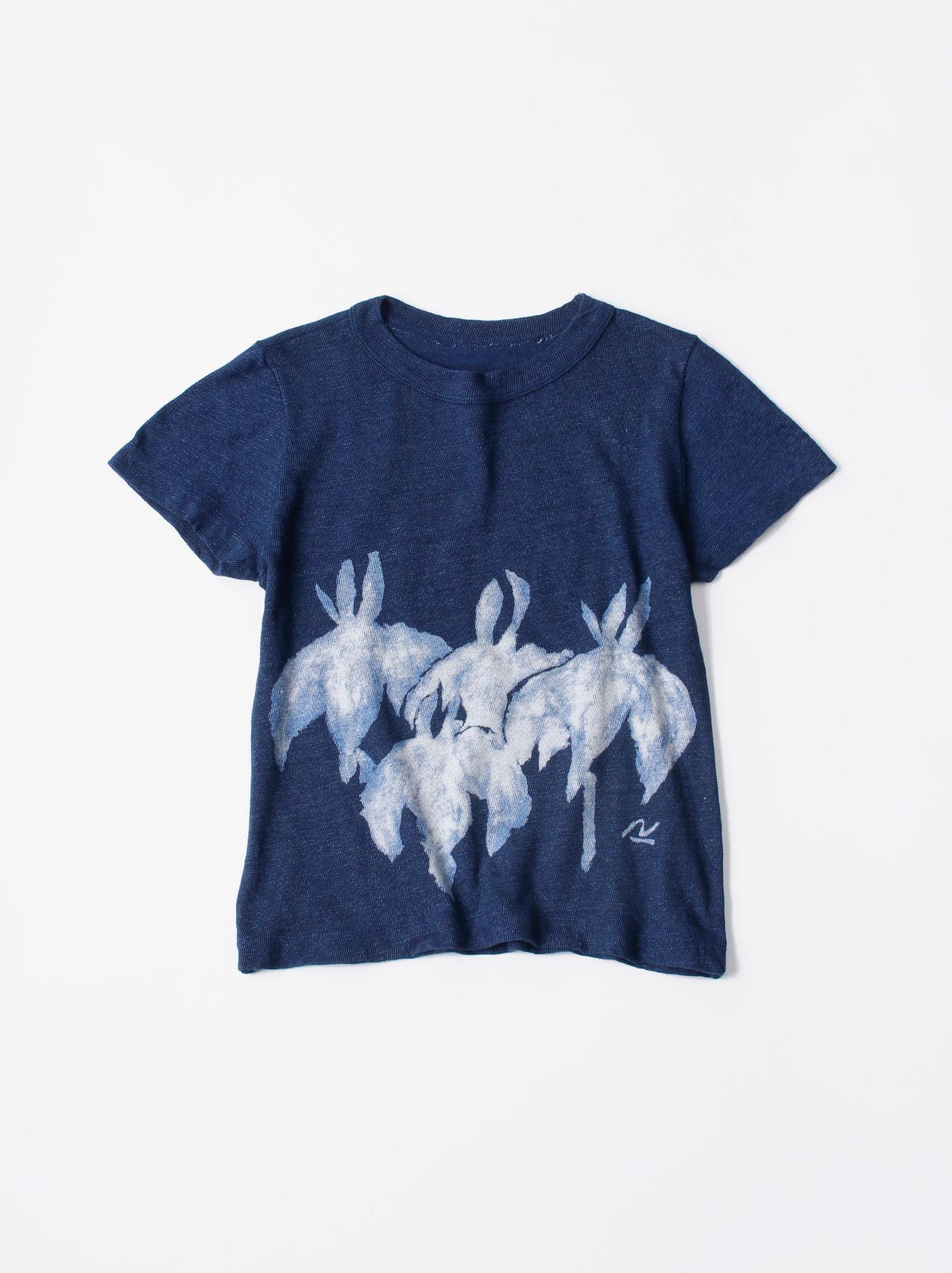 WH Indigo Saijiki Tango-no-sekku T-shirt-1