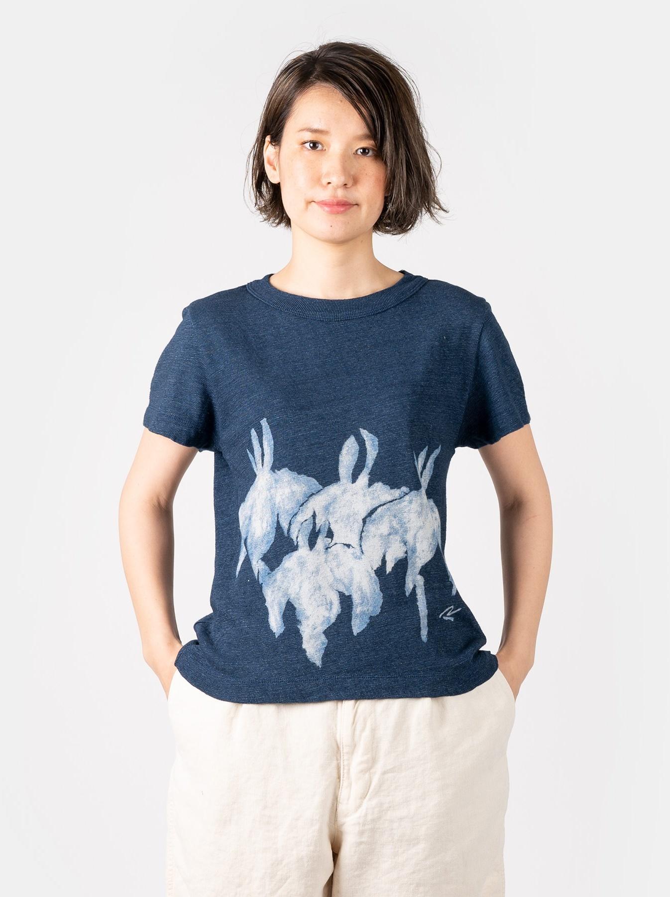 WH Indigo Saijiki Tango-no-sekku T-shirt-3