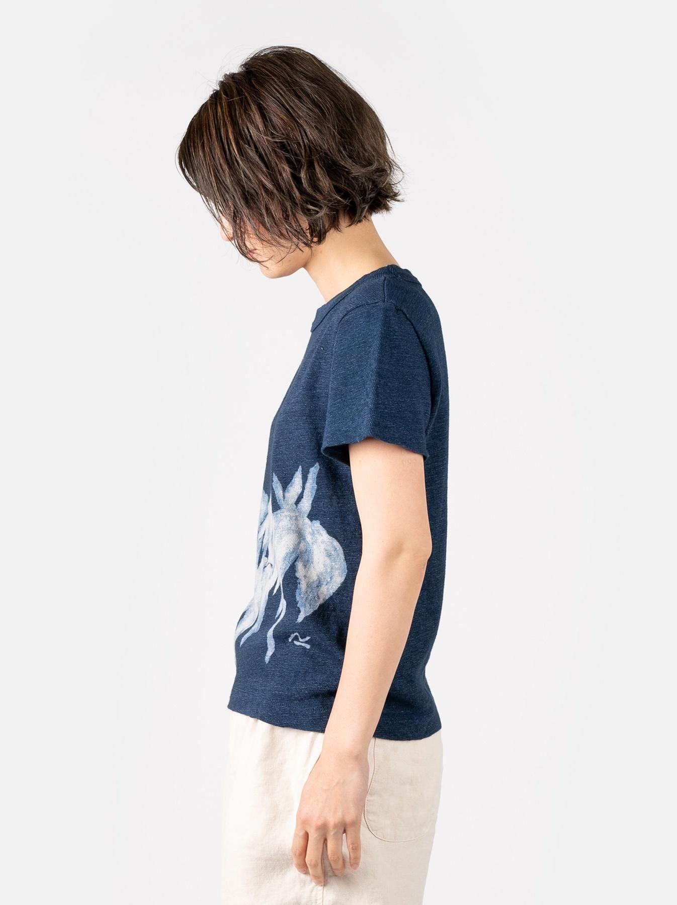 WH Indigo Saijiki Tango-no-sekku T-shirt-4
