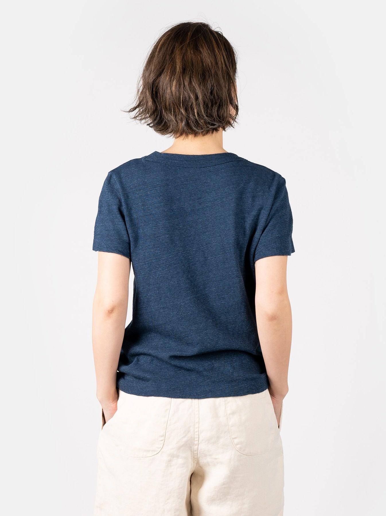 WH Indigo Saijiki Tango-no-sekku T-shirt-5