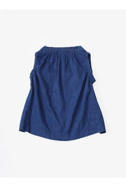 WH Cotton-linen Denim Camisole