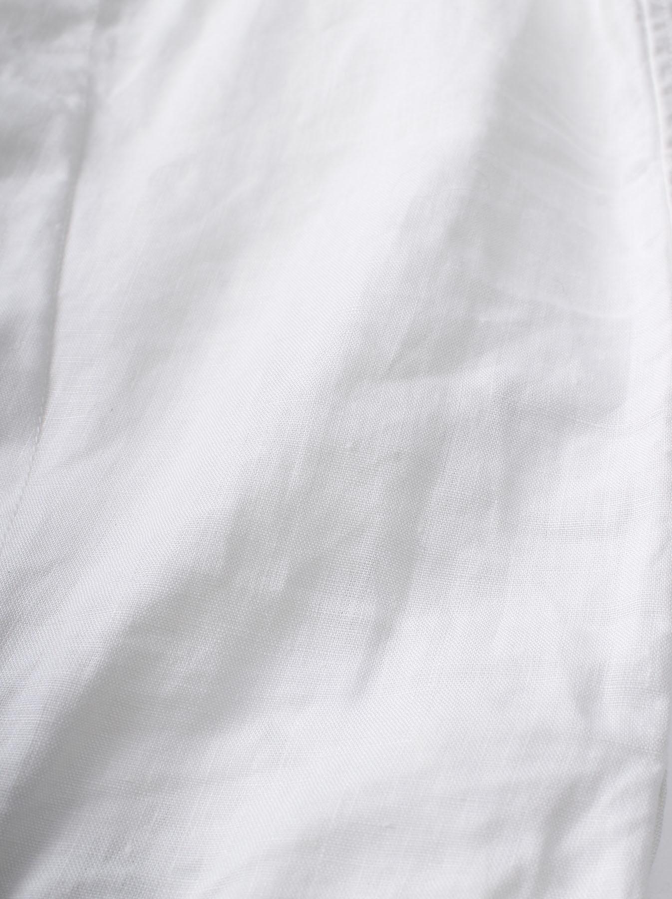 WH Linen Sleeveless Tuck Blouse-12