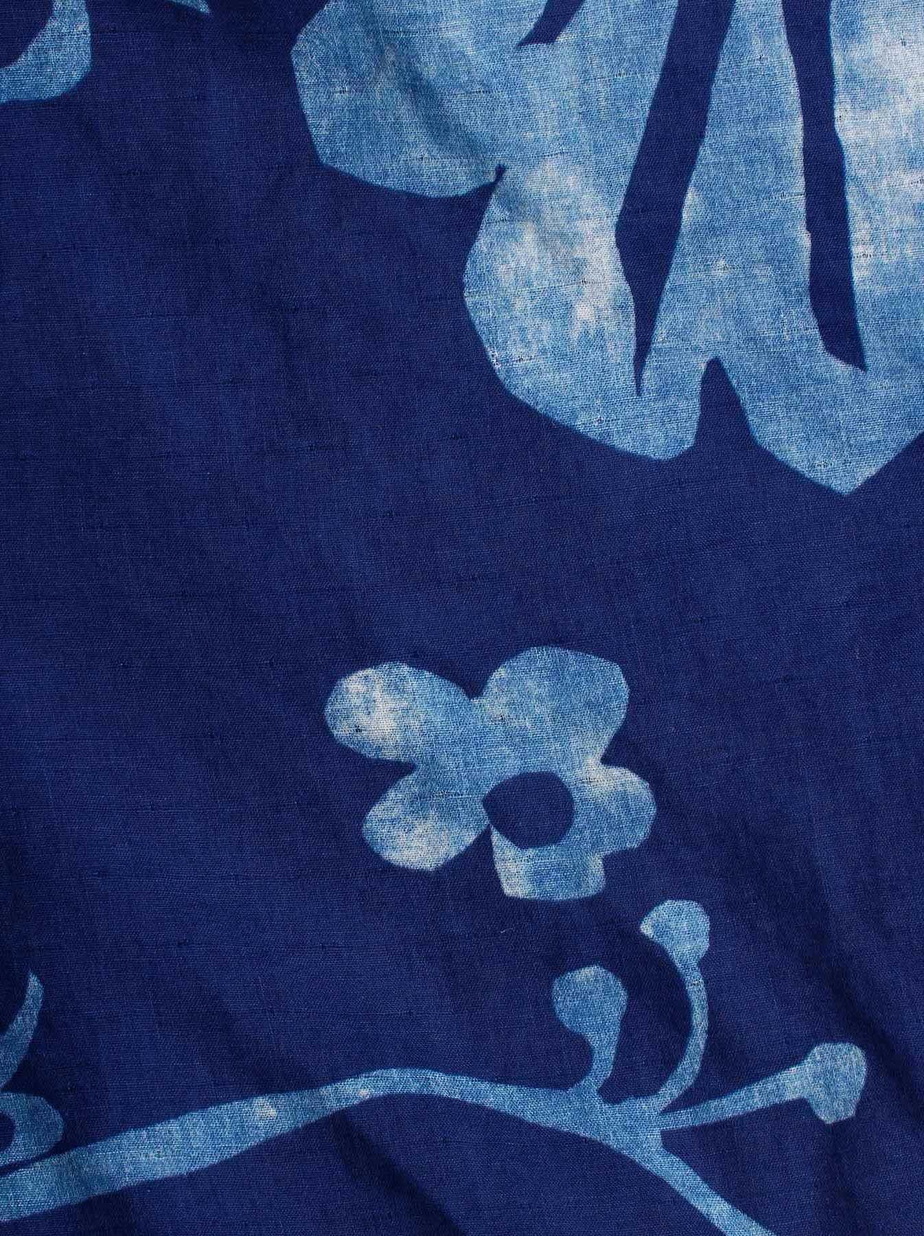 WH Indigo W-cloth Umiiloha Blouse-8