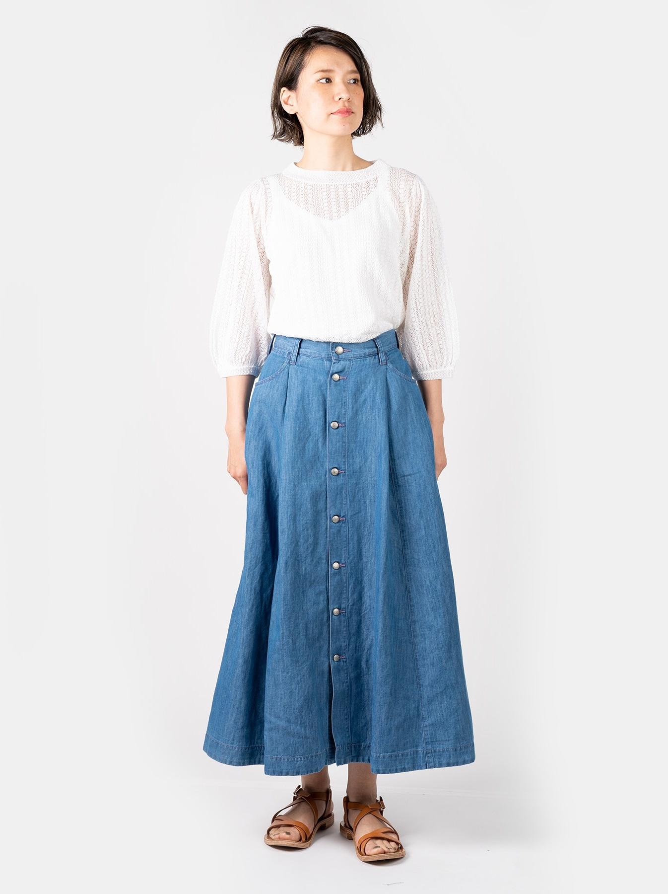 WH Cotton Linen Mon-petit Skirt-2