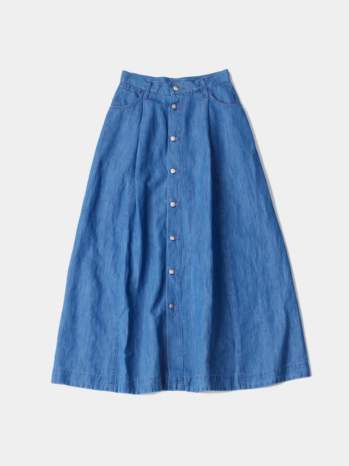 WH Cotton Linen Mon-petit Skirt-1