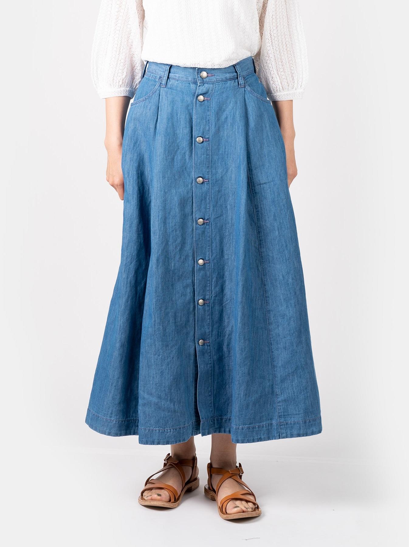 WH Cotton Linen Mon-petit Skirt-3
