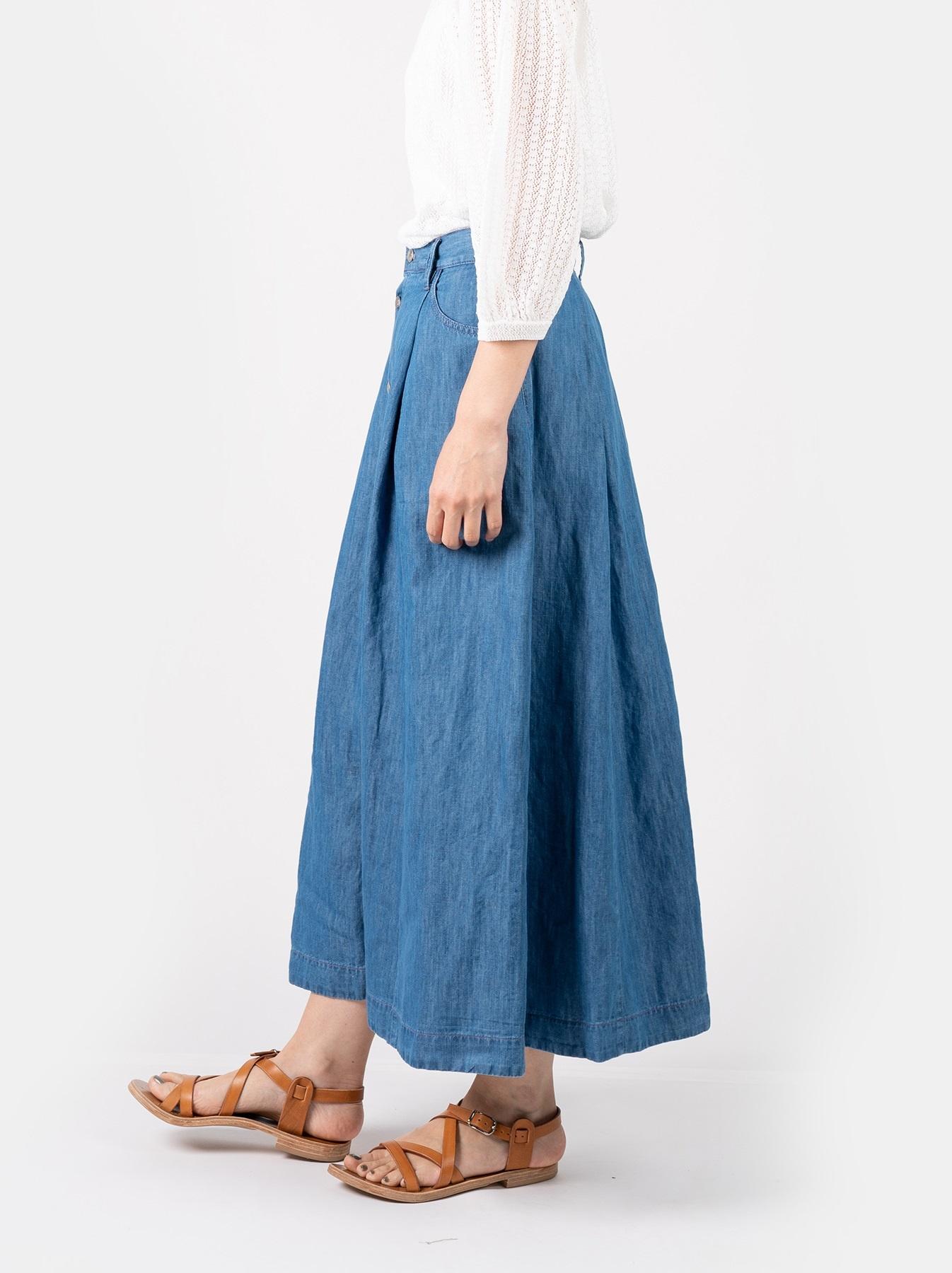 WH Cotton Linen Mon-petit Skirt-4