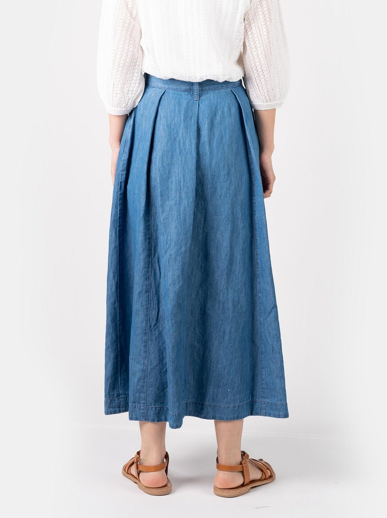 WH Cotton Linen Mon-petit Skirt-5