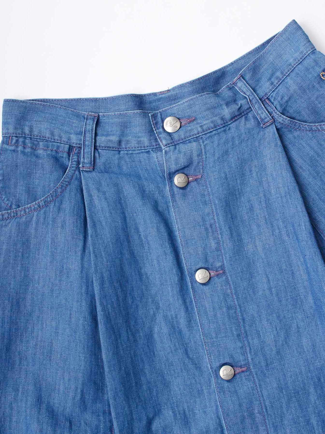 WH Cotton Linen Mon-petit Skirt-7