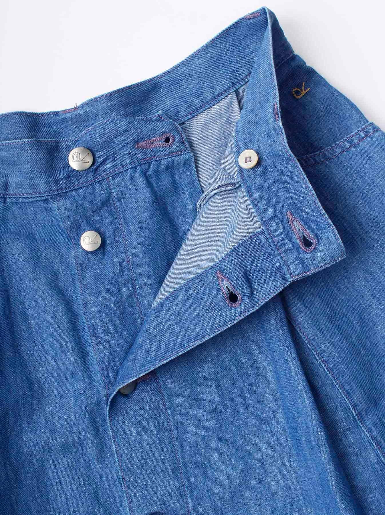 WH Cotton Linen Mon-petit Skirt-8