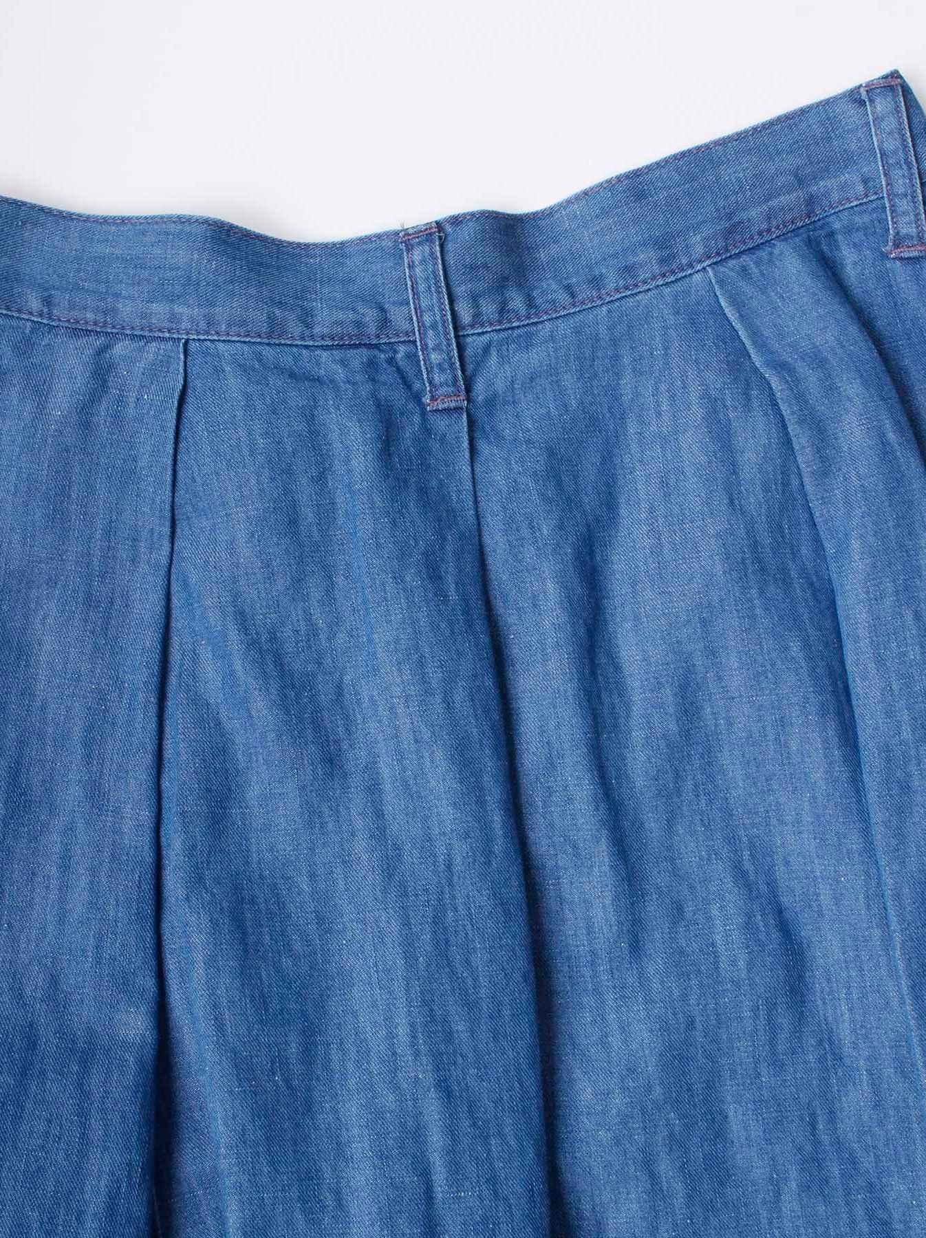 WH Cotton Linen Mon-petit Skirt-10
