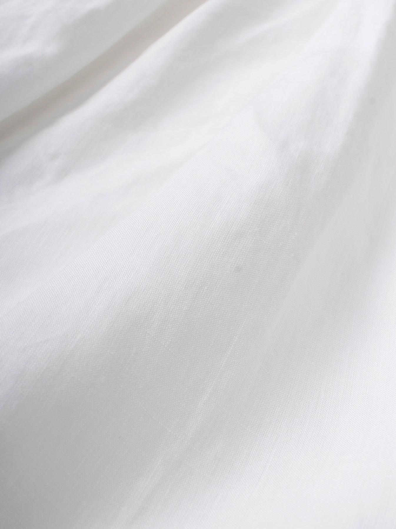 WH Linen Sleeveless Tuck Dress-11