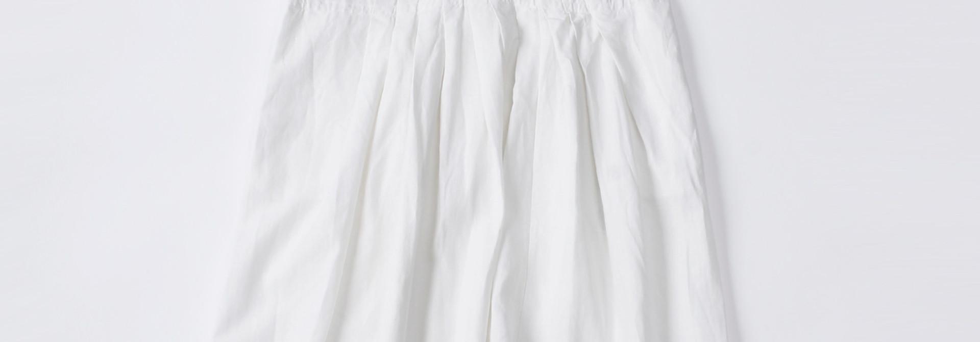 WH Linen Sleeveless Tuck Dress