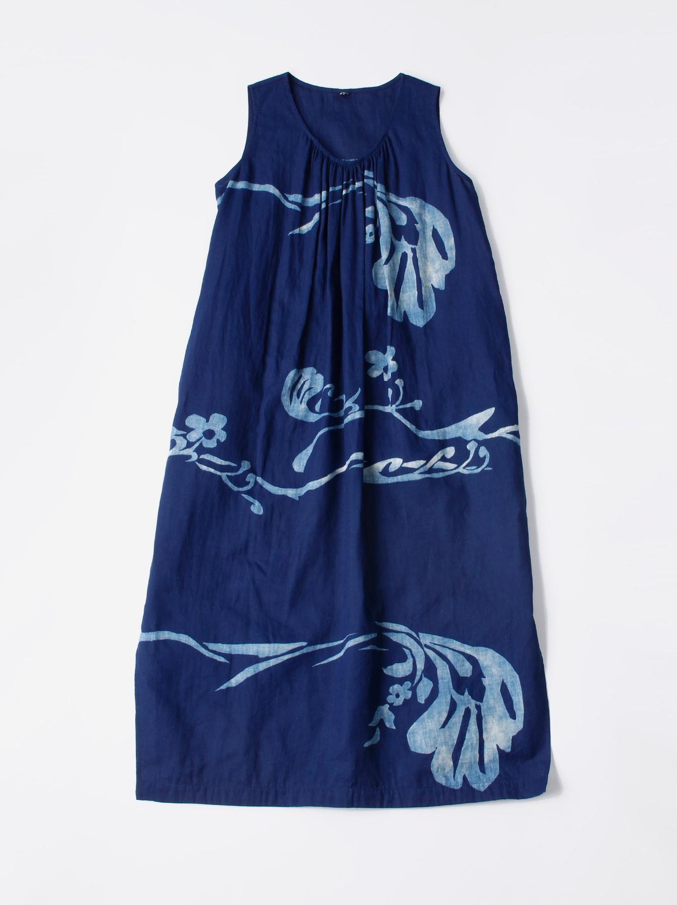 WH Indigo W-cloth Umiiloha Dress-1