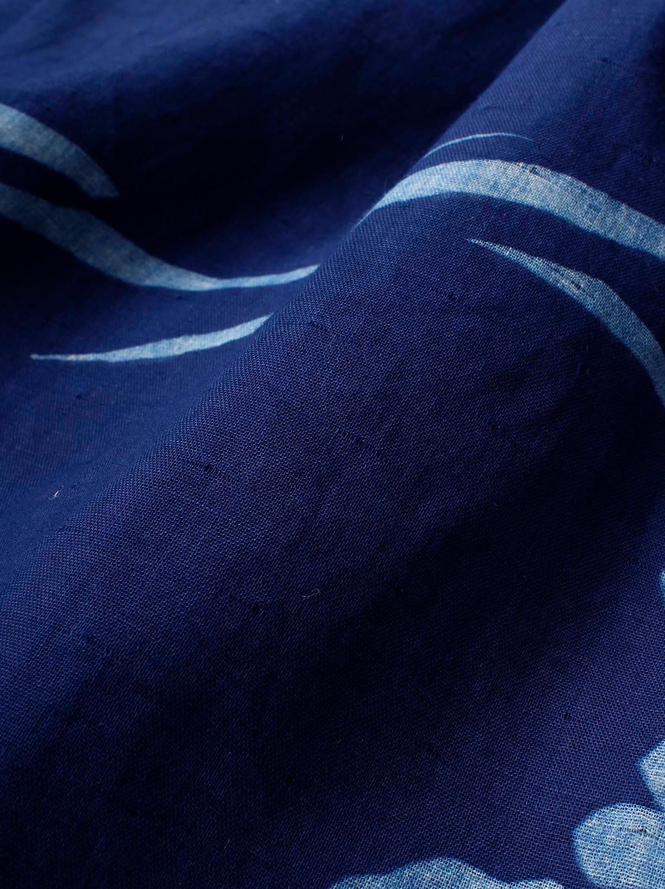 WH Indigo W-cloth Umiiloha Dress-11