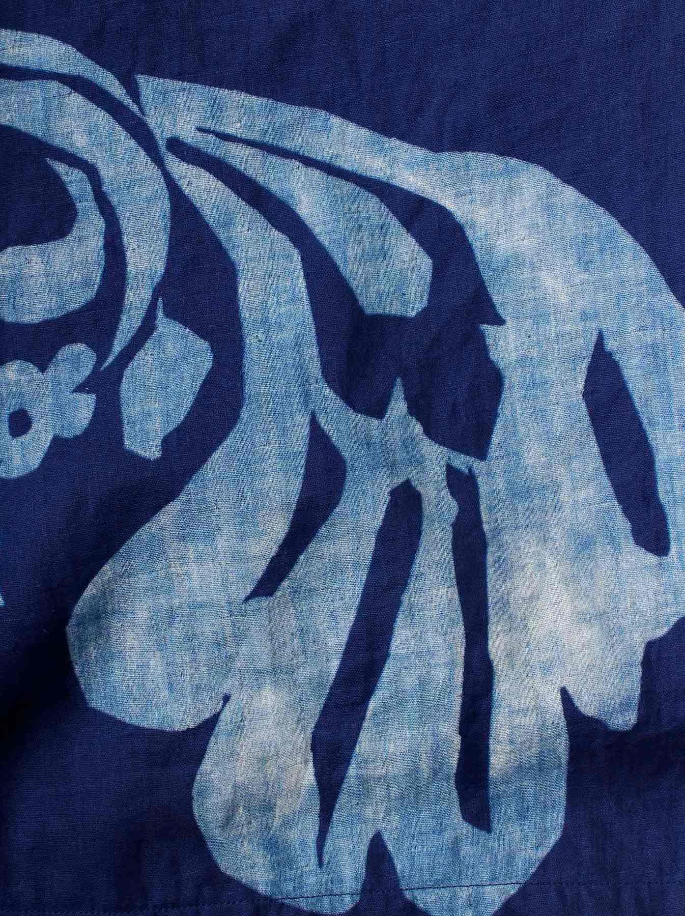 WH Indigo W-cloth Umiiloha Dress-10