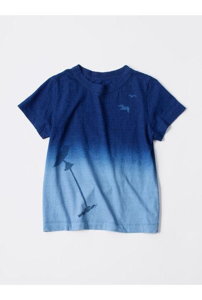 WH Indigo Ukiyo-e Break 45 Star T-shirt (Womens)