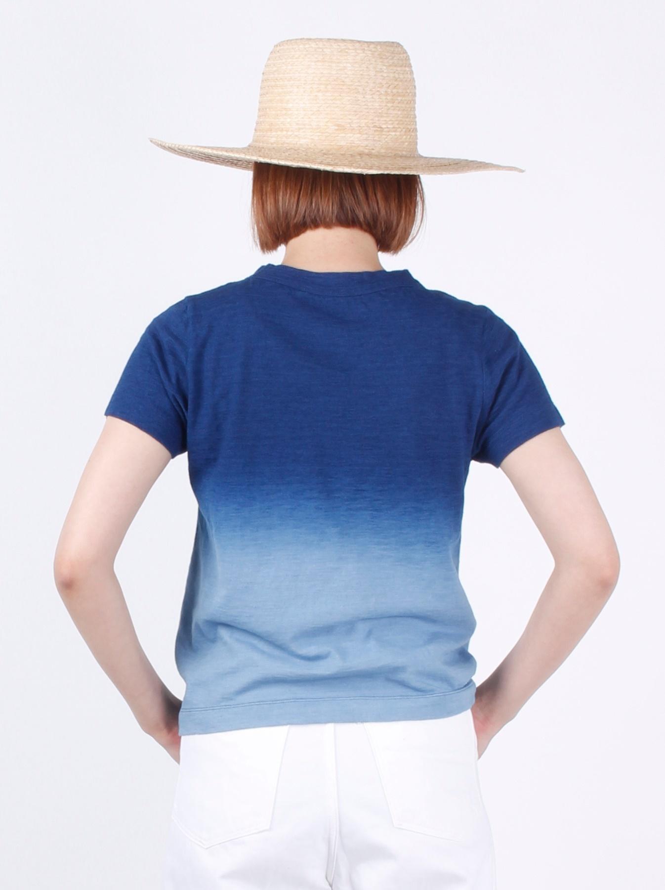 WH Indigo Ukiyo-e Break 45 Star T-shirt (Womens)-5