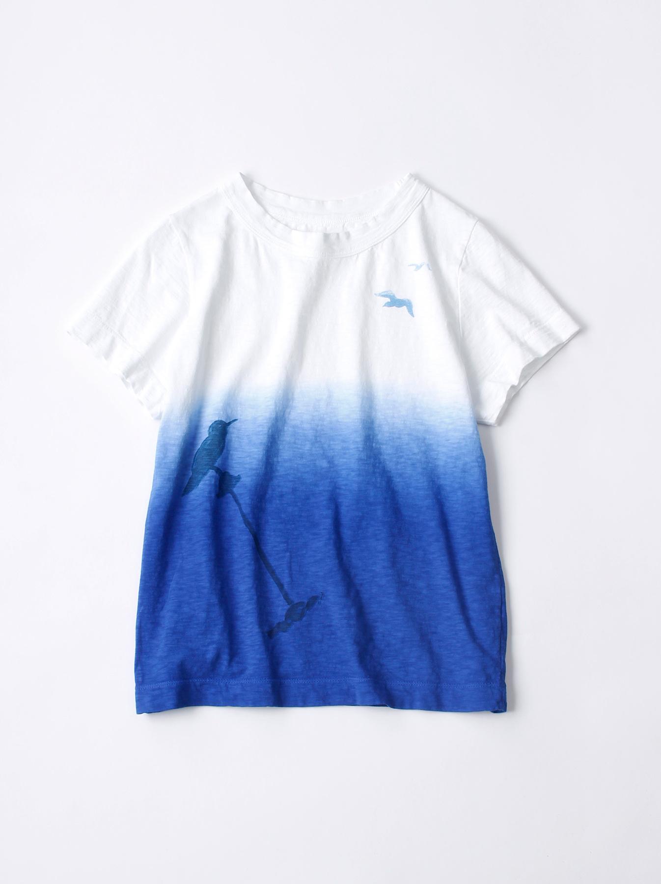 WH Ukiyo-e Break 45 Star T-shirt (Womens)-1