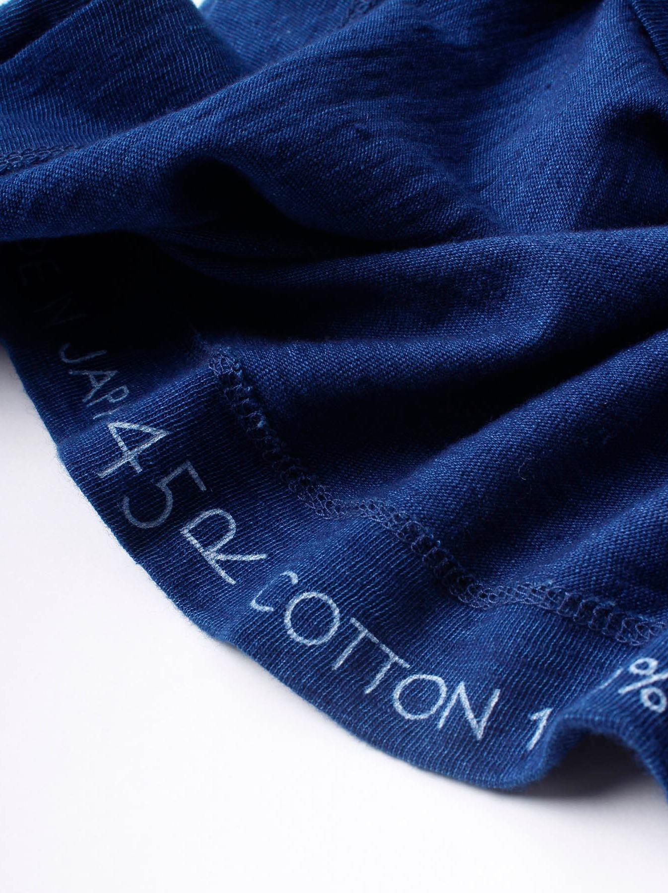 WH Indigo Ukiyo-e Kayak 45 Star T-shirt (Womens)-8