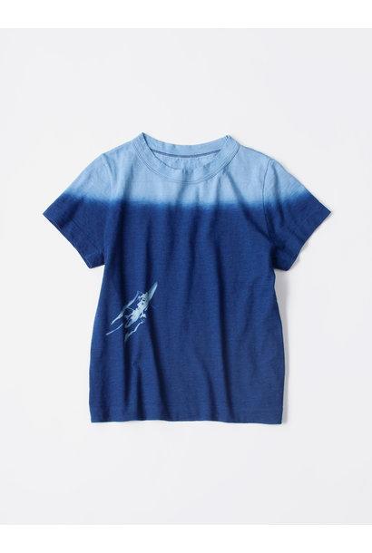 WH Indigo Ukiyo-e Kayak 45 Star T-shirt (Womens)