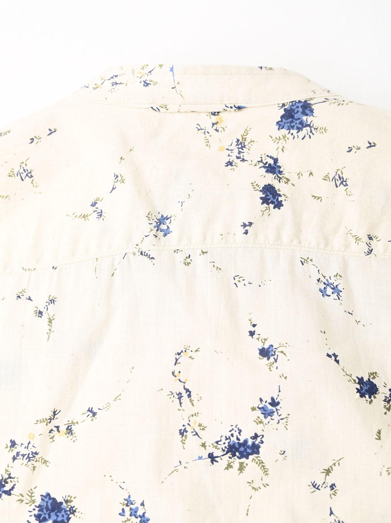 Khadi Frill Printed Shirt (0321)-12