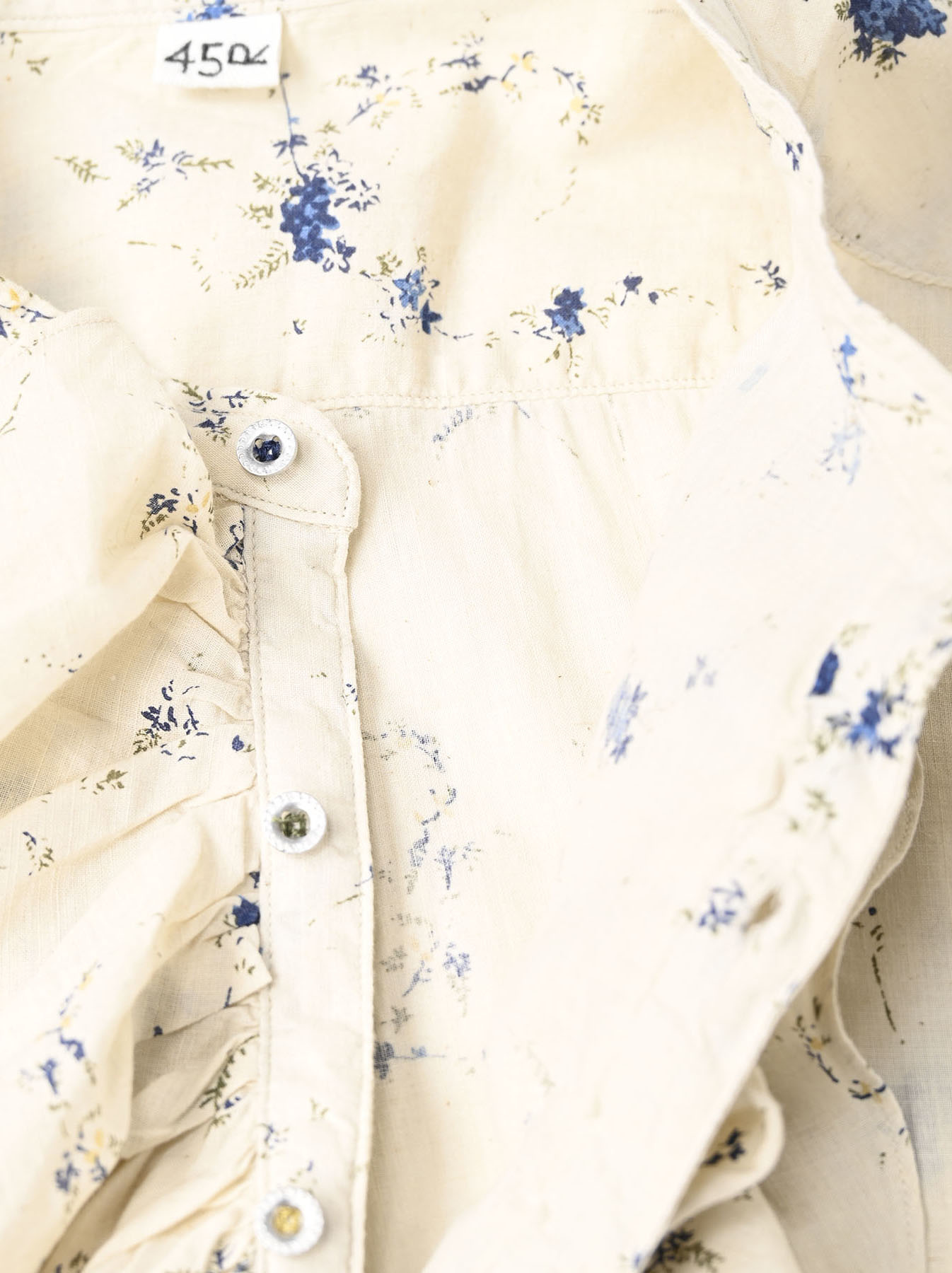 Khadi Frill Printed Shirt (0321)-9