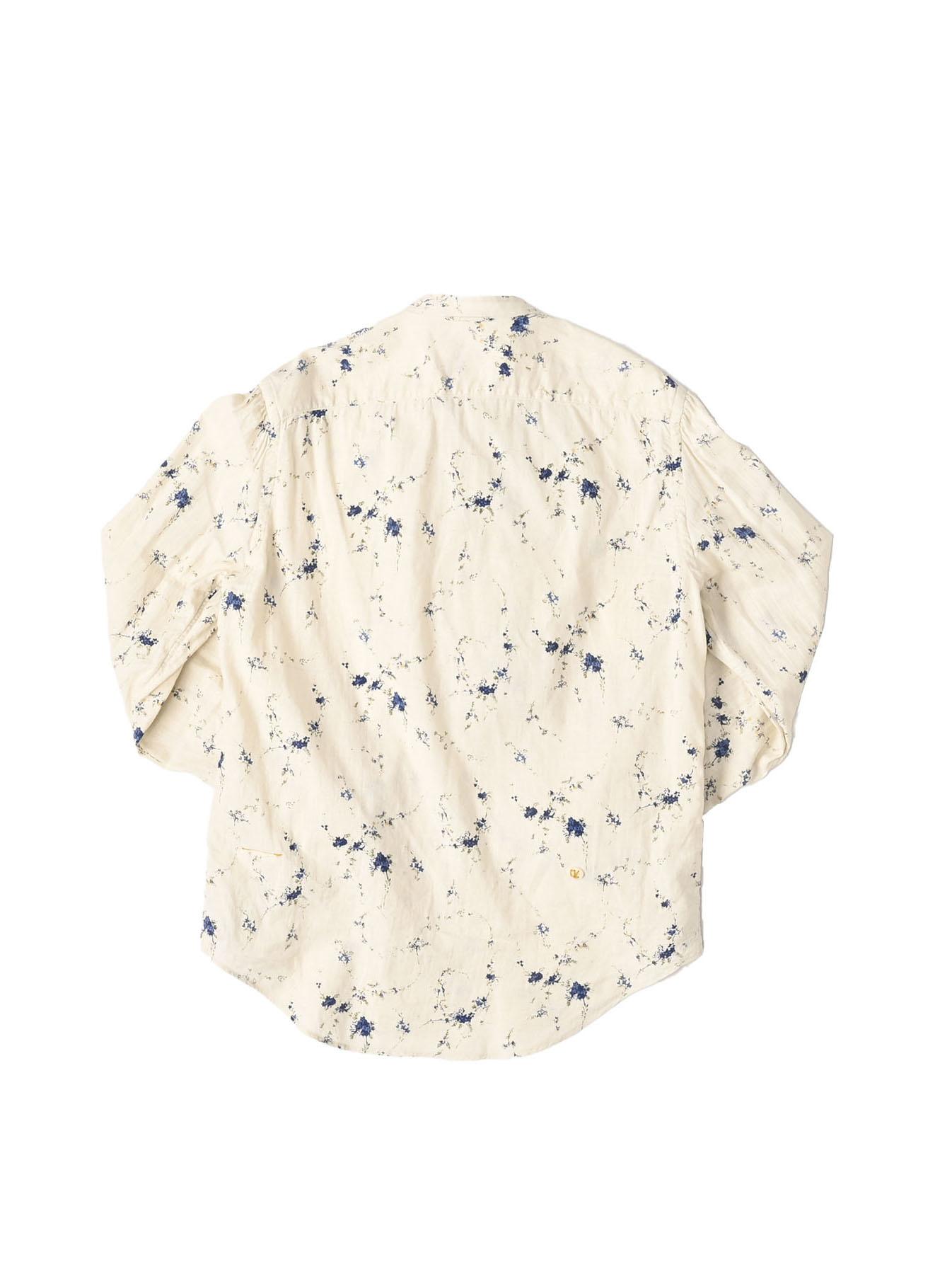 Khadi Frill Printed Shirt (0321)-6