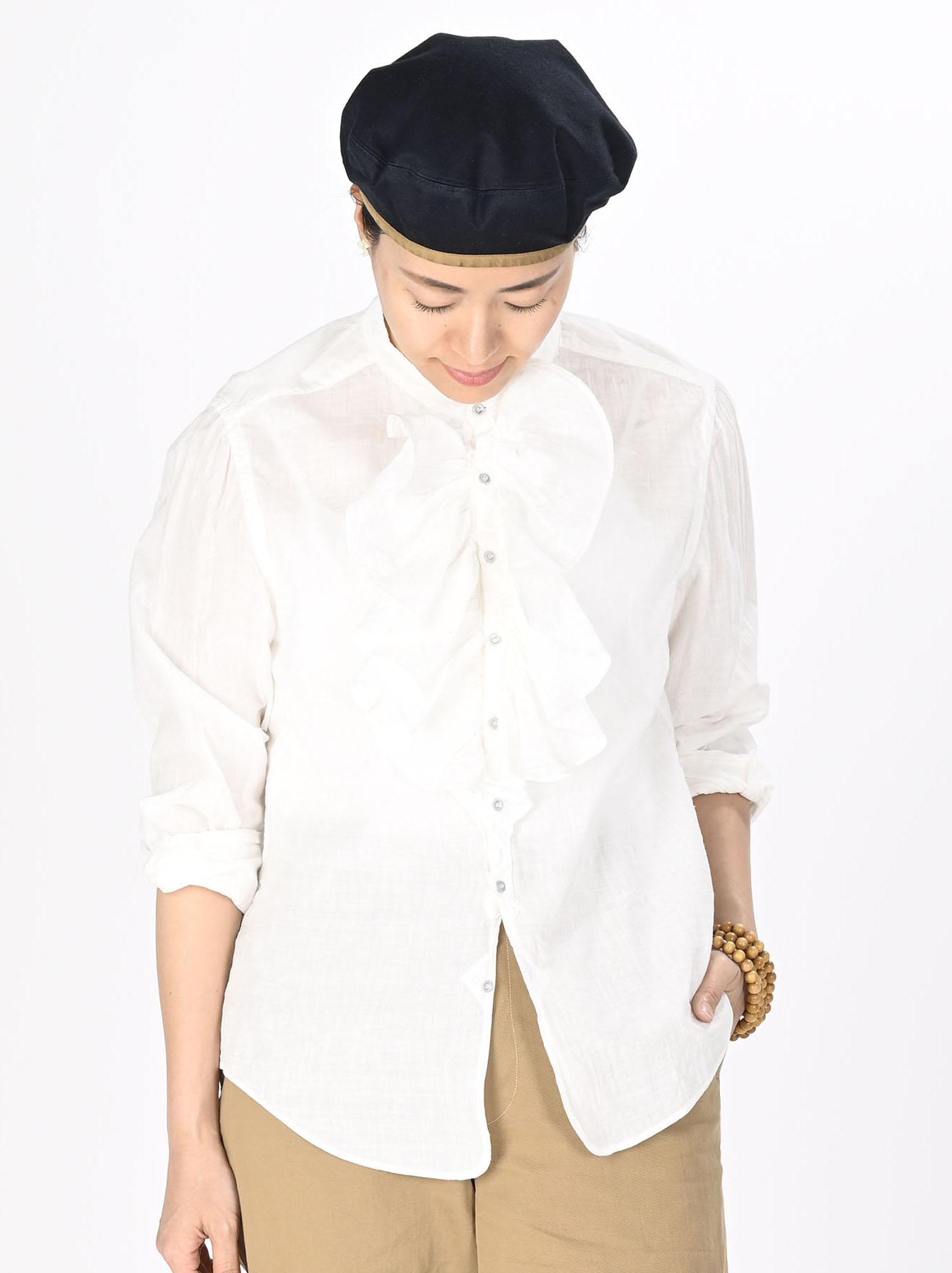 Khadi Frill Shirt (0321)-3