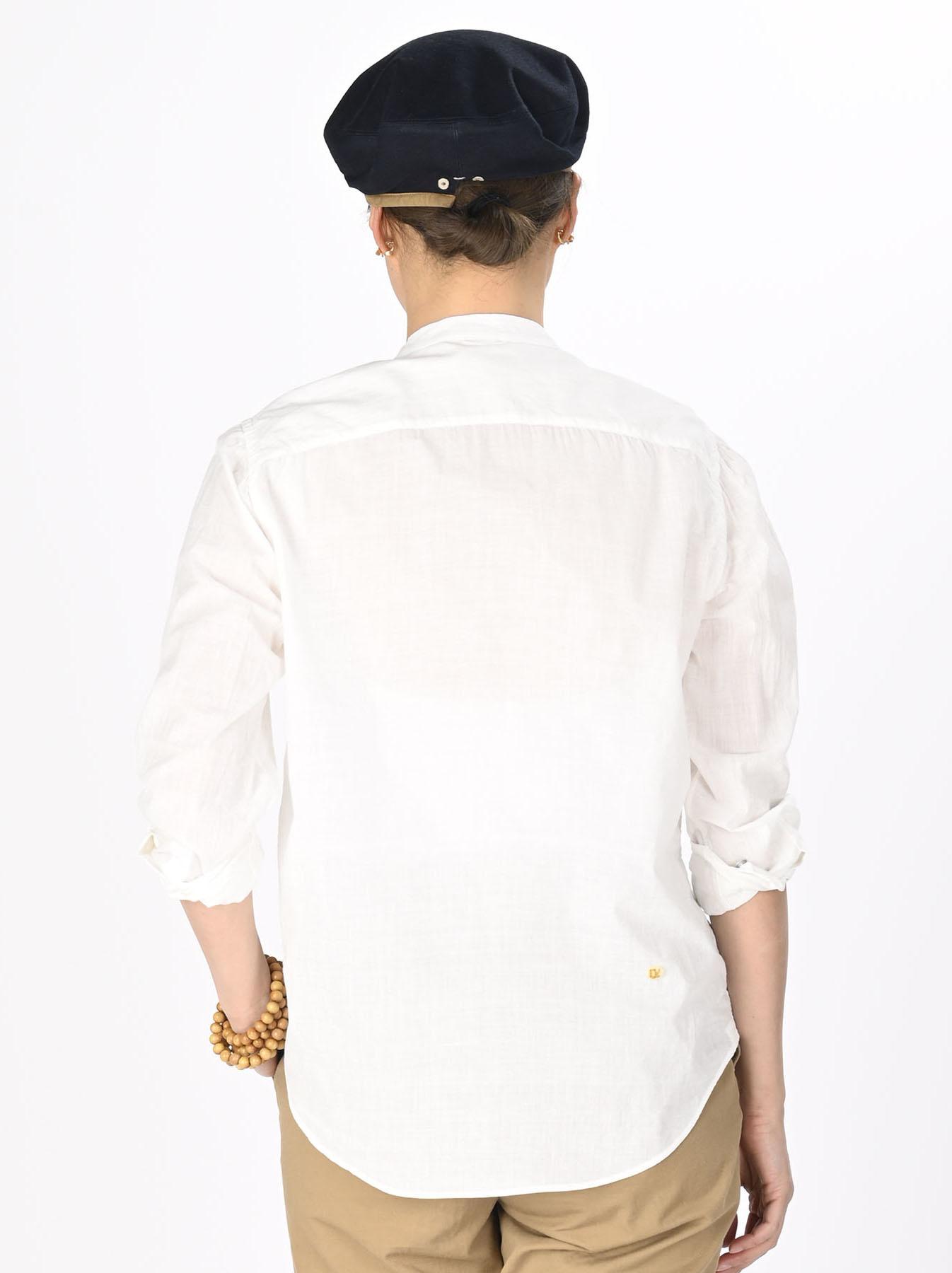 Khadi Frill Shirt (0321)-5