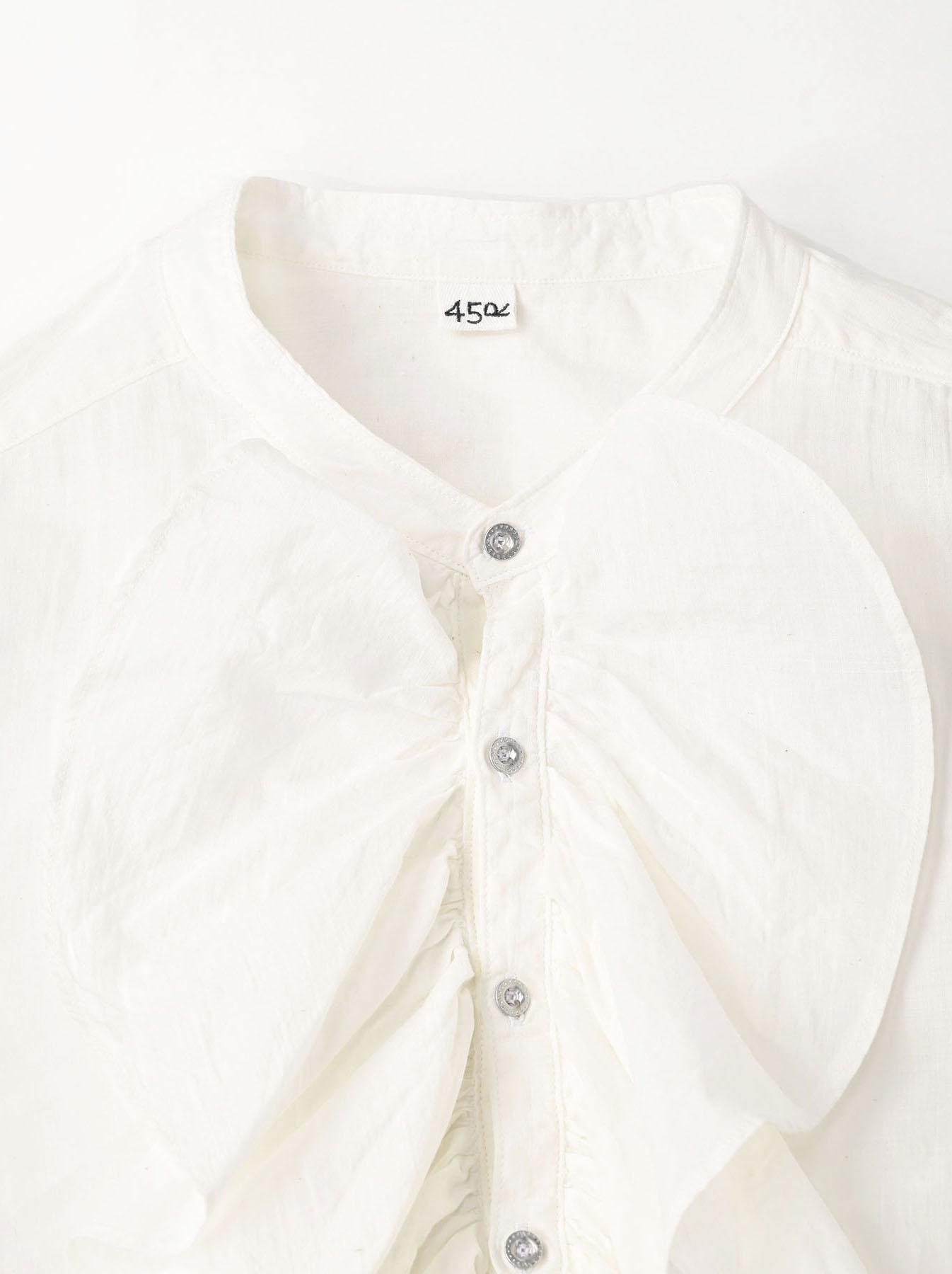 Khadi Frill Shirt (0321)-7