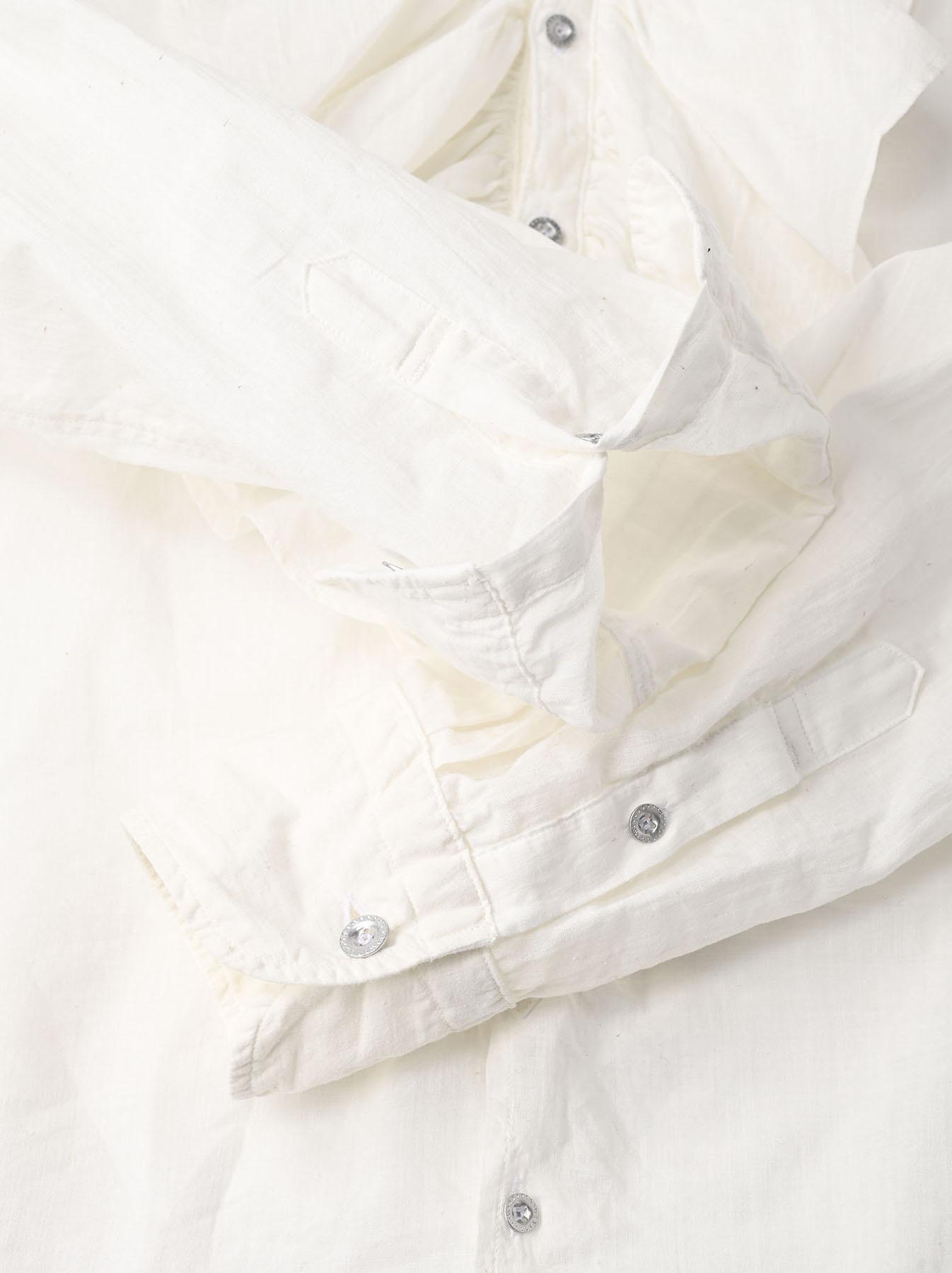 Khadi Frill Shirt (0321)-11