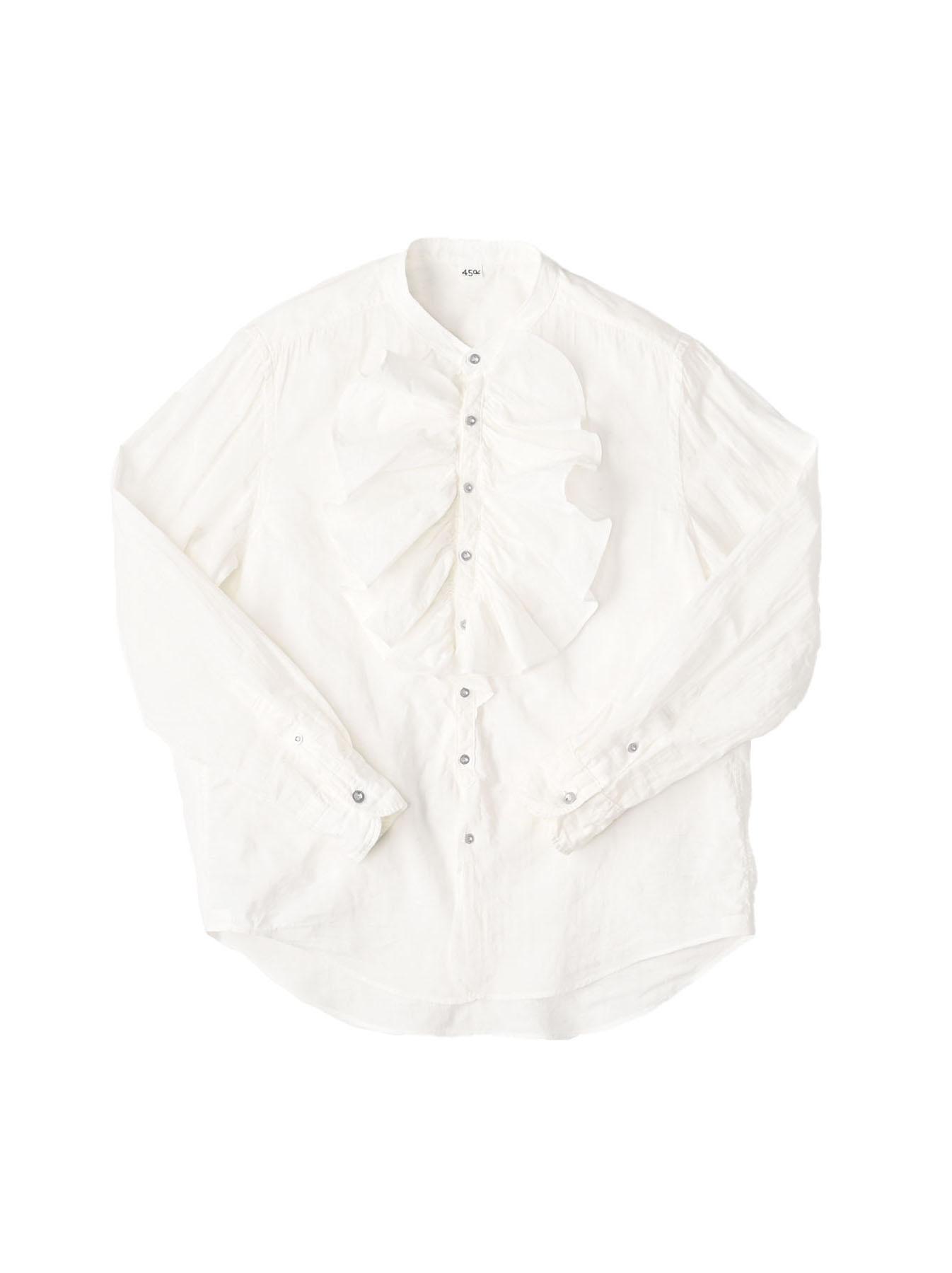 Khadi Frill Shirt (0321)-1