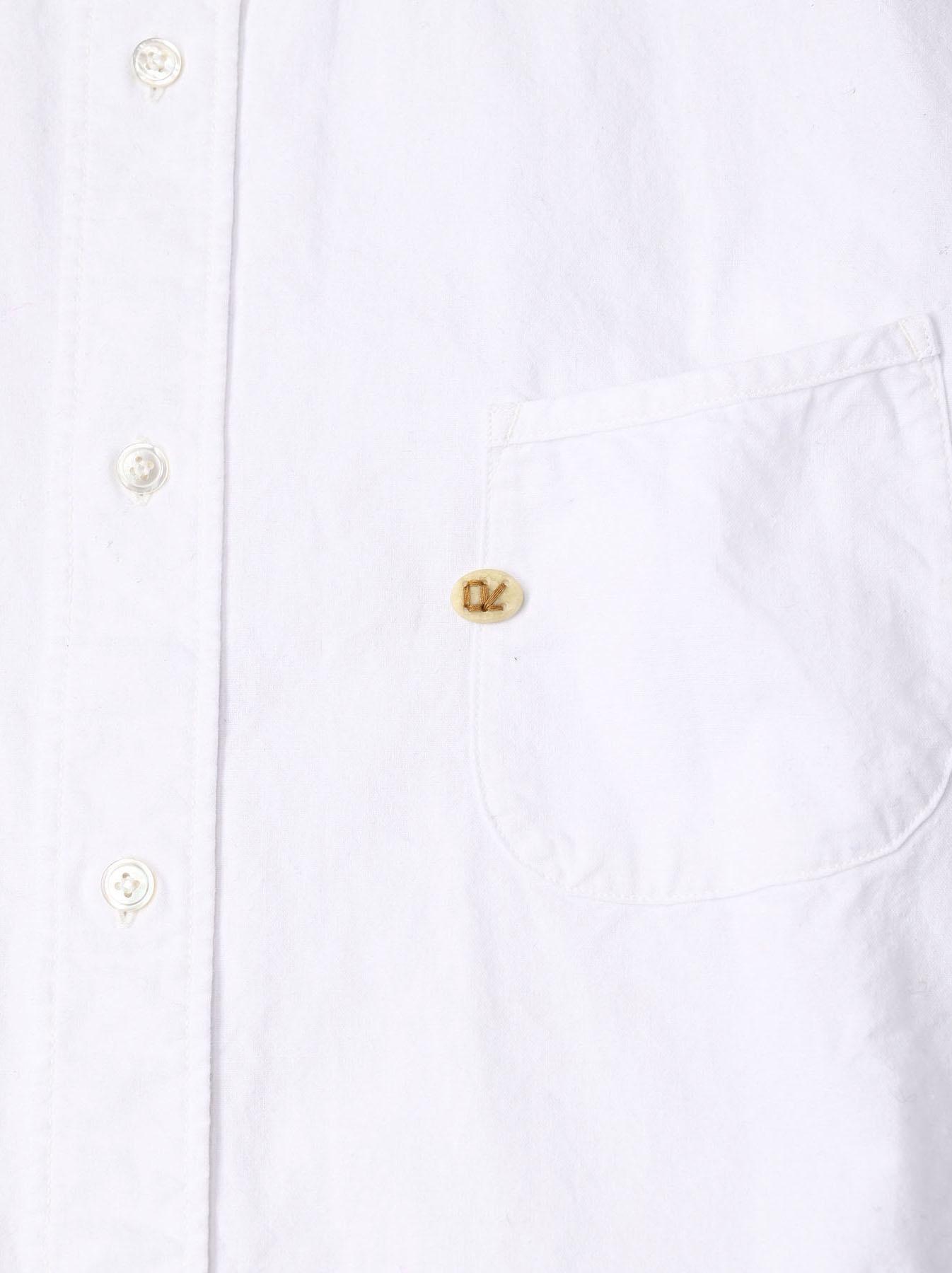 Indian Okome-hira 908 Ocean Button Down Shirt (0321)-12