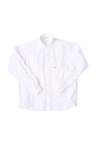 Indian Okome-hira 908 Ocean Button Down Shirt (0321)