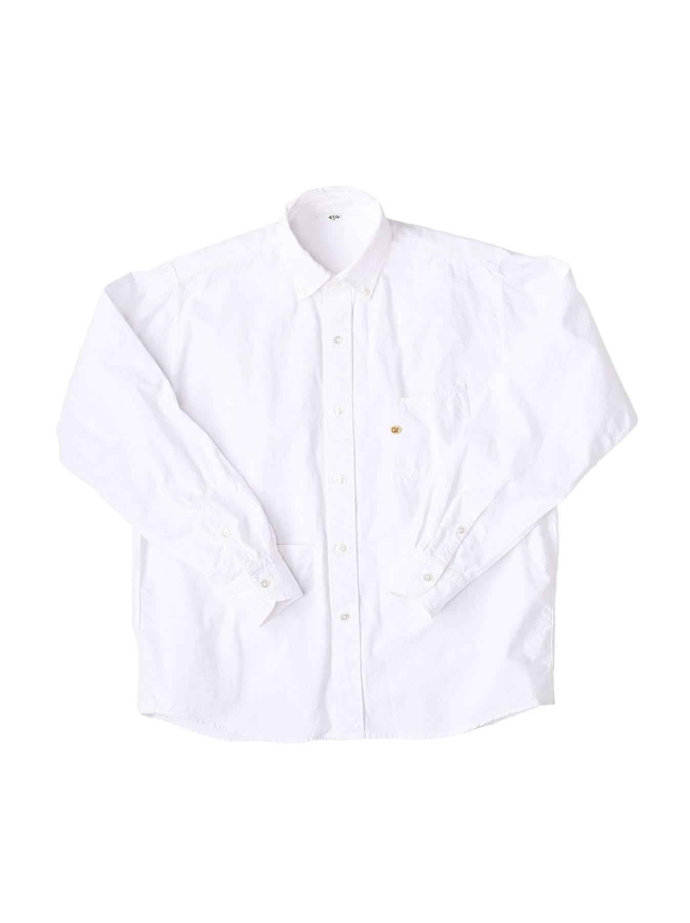 Indian Okome-hira 908 Ocean Button Down Shirt (0321)-1